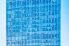 Πρόσοψη γυαλιού του επιχειρησιακού κτηρίου Στοκ Φωτογραφία