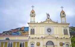 Πρόσοψη εκκλησιών του Domingo Santo Στοκ Εικόνα