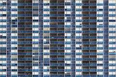 Πρόσοψη ενός κατοικημένου κτηρίου Στοκ Φωτογραφίες