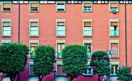 Πρόσοψη ενός κτηρίου Στοκ Εικόνες