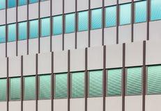 Πρόσοψη ενός κτηρίου ofice Στοκ Εικόνες