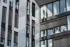Πρόσοψη ενός κτιρίου γραφείων Στοκ Φωτογραφία