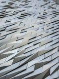 Πρόσοψη ενός μουσείου στο Μπέλφαστ διανυσματική απεικόνιση