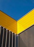 πρόσοψη κίτρινη Στοκ Εικόνες