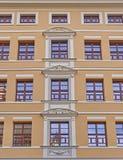 Πρόσοψη κτιρίου γραφείων, Λειψία Γερμανία Στοκ Εικόνα