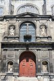 Πρόσοψη μιας ιστορικής εκκλησίας Στοκ φωτογραφία με δικαίωμα ελεύθερης χρήσης