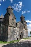 Πρόσοψη μοναστηριών Tegher στοκ φωτογραφία