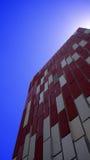 Πρόσοψη οικοδόμησης εξαερισμού Στοκ Εικόνες