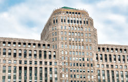 Πρόσοψη οικοδόμησης Mart εμπορευμάτων, Σικάγο, Ιλλινόις, ΗΠΑ Στοκ Εικόνα