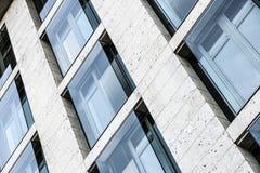 Πρόσοψη ουρανοξυστών Στοκ Φωτογραφίες