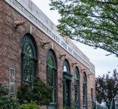 Πρόσοψη ταχυδρομείου του Όρεγκον Corvallis στοκ φωτογραφία