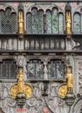 Πρόσοψη της ιερής βασιλικής αίματος στη Μπρυζ Στοκ φωτογραφίες με δικαίωμα ελεύθερης χρήσης