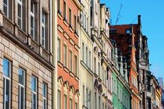 Πρόσοψη της ιστορικής κατοικίας Στοκ φωτογραφίες με δικαίωμα ελεύθερης χρήσης