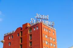 Πρόσοψη του ιστορικού ξενοδοχείου ST James Στοκ Φωτογραφίες