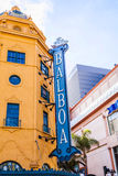 Πρόσοψη του ιστορικού BALBOA θεάτρων Στοκ Εικόνα