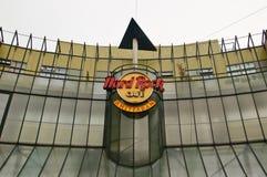 Πρόσοψη του καφέ Άμστερνταμ σκληρής ροκ στοκ εικόνες
