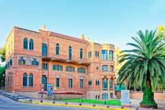 Πρόσοψη του κτηρίου Hospital de Sant Πάου στη Βαρκελώνη Στοκ φωτογραφίες με δικαίωμα ελεύθερης χρήσης