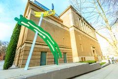 Πρόσοψη του Μουσείου Τέχνης του Πόρτλαντ ορόσημων στο Πόρτλαντ, Όρεγκον στοκ φωτογραφία με δικαίωμα ελεύθερης χρήσης