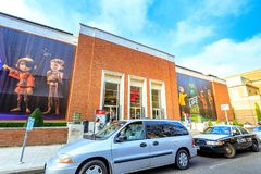Πρόσοψη του Μουσείου Τέχνης του Πόρτλαντ ορόσημων στο Πόρτλαντ, Όρεγκον στοκ φωτογραφίες με δικαίωμα ελεύθερης χρήσης