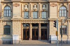 Πρόσοψη του Μουσείου Τέχνης Ateneum στο Ελσίνκι Στοκ φωτογραφίες με δικαίωμα ελεύθερης χρήσης
