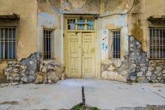 Πρόσοψη του παλαιού σπιτιού στο Ιράκ Στοκ εικόνα με δικαίωμα ελεύθερης χρήσης