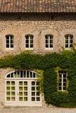 Πρόσοψη του σπιτιού Provencal, Γαλλία Στοκ Εικόνες