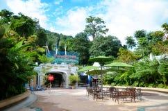 Πρόσοψη του σταθμού τρένου στο λόφο του Hill Penang στοκ φωτογραφίες με δικαίωμα ελεύθερης χρήσης