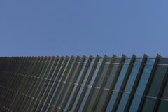 Πρόσοψη του σύγχρονου σύγχρονου κτηρίου, κτίριο γραφείων, επιχείρηση Στοκ Φωτογραφία