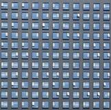Πρόσοψη του σύγχρονου σύγχρονου κτηρίου, κτίριο γραφείων, επιχείρηση Στοκ Εικόνες
