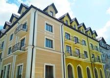 Πρόσοψη των κτηρίων, kamenets-Podolsky, Ουκρανία στοκ φωτογραφίες