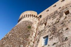 Πρόσοψη aragonese-Angevine Castle, Gaeta Στοκ φωτογραφία με δικαίωμα ελεύθερης χρήσης