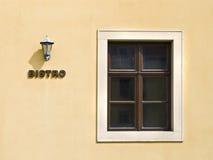 πρόσοψη bistro Στοκ Εικόνες
