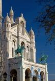 πρόσοψη coeur sacre Στοκ εικόνες με δικαίωμα ελεύθερης χρήσης