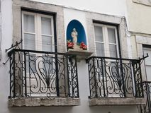 πρόσοψη lissabon Πορτογαλία Στοκ Εικόνες