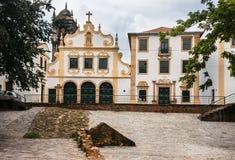 Πρόσοψη Olinda Βραζιλία μονών του Σαν Φρανσίσκο στοκ φωτογραφία με δικαίωμα ελεύθερης χρήσης