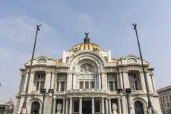 Πρόσοψη Palacio de Bellas Artes στην Πόλη του Μεξικού, Μεξικό Στοκ Εικόνες