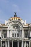 Πρόσοψη Palacio de Bellas Artes στην Πόλη του Μεξικού, Μεξικό Στοκ εικόνα με δικαίωμα ελεύθερης χρήσης