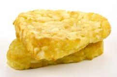 πρόσφατα η πατάτα τηγανιτών έψ& Στοκ Εικόνες