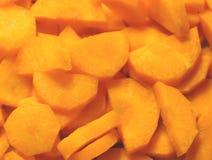 Πρόσφατα κόψτε το καρότο στοκ εικόνα με δικαίωμα ελεύθερης χρήσης