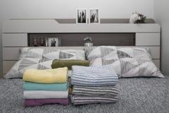 πρόσφατα παντρεμένο couple& x27 δωμάτιο του s Στοκ φωτογραφία με δικαίωμα ελεύθερης χρήσης