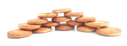 Πρόσφατα ψημένα μπισκότα που σχεδιάζονται υπέροχα Στοκ Εικόνα