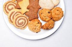 Πρόσφατα ψημένα μπισκότα Στοκ εικόνα με δικαίωμα ελεύθερης χρήσης