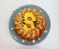 Πρόσφατα ψημένο κέικ φρούτων και καρυδιών στοκ φωτογραφία με δικαίωμα ελεύθερης χρήσης