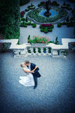 Πρόσφατα wed ζεύγος Στοκ φωτογραφίες με δικαίωμα ελεύθερης χρήσης