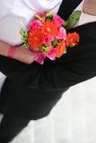 πρόσφατα weds Στοκ Φωτογραφίες
