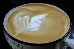 Πρόσφατη τέχνη καφέ Στοκ φωτογραφία με δικαίωμα ελεύθερης χρήσης