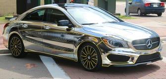 Πρόσφατο πρότυπο Benz της Mercedes χρωμίου Στοκ φωτογραφία με δικαίωμα ελεύθερης χρήσης