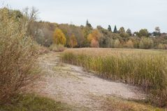 Πρόσφατο φθινόπωρο στο πάρκο, Στοκ Εικόνες