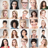 Πρόσωπα ανθρώπων στοκ φωτογραφίες