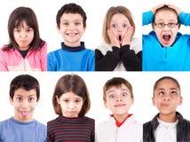 πρόσωπα αστεία Στοκ Εικόνες